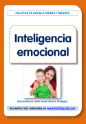 Folleto para las familias, con orientaciones sobre la inteligencia emocional