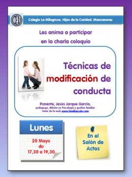 TECNICAS MODIFICACION CONDUCTA