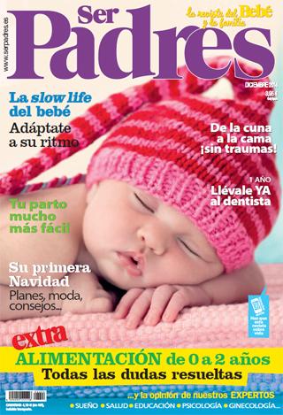 Colaboración de Jesús Jarque con la Revista Ser Padres Diciembre de 2014