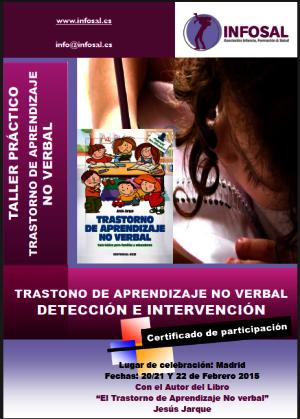 Curso sobre el Trastorno de Aprendizaje No Verbal