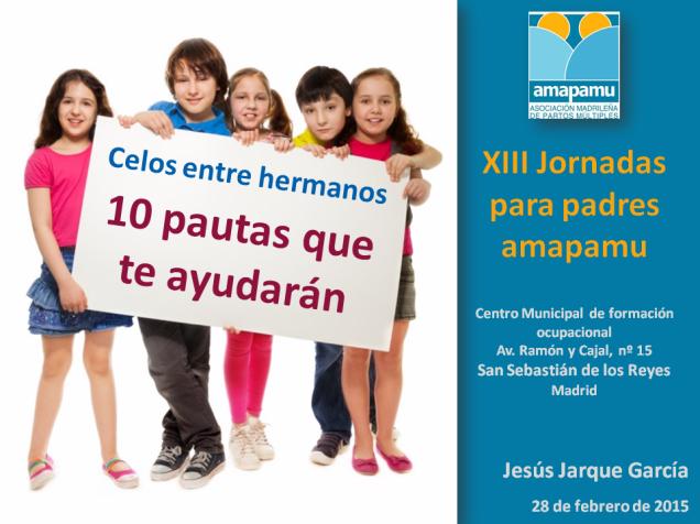 Ponencia de Jesús Jarque en las XIII Jornadas de AMAPAMU