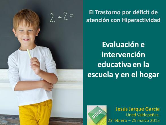 Curso sobre el TDAH en la escuela y en el hogar impartido por Jesús Jarque en la UNED