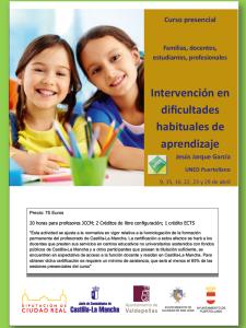 cartel curso UNED Puertollano abril 2015
