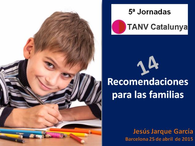 Ponencia de Jesús Jarque en las 5ª Jornadas TANV Catalunya