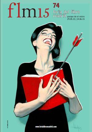Jesús Jarque estará un año más en la Feria del Libro de Madrid