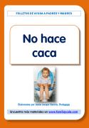 Folleto para las familias, orientaciones sobre los niños que no pueden hacer caca