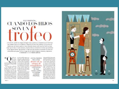 Colaboración de Jesús Jarque, con el Diario El Mercurio, de Chile