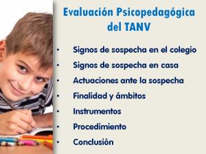 Contenidos módulo 2 del curso on line sobre el trastorno de aprendizaje no verbal