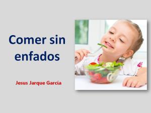 Charla sobre la alimentación infantil de Jesús Jarque