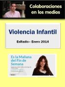 Entrevista en el programa Es la Mañana Fin de Semana