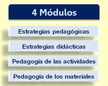 contenidos curso pedagogía práctica de Jesús Jarque