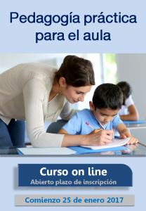 Curso on line Pedagogía