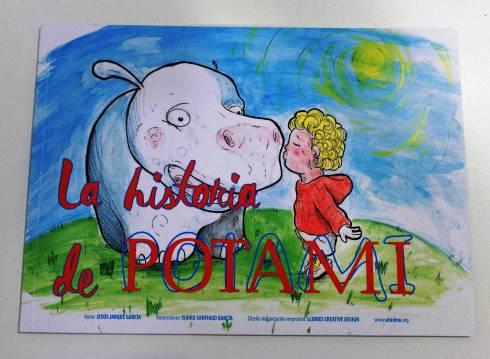 La historia de Potami, cuento de Jesús Jarque sobre la Distonía Mioclónica