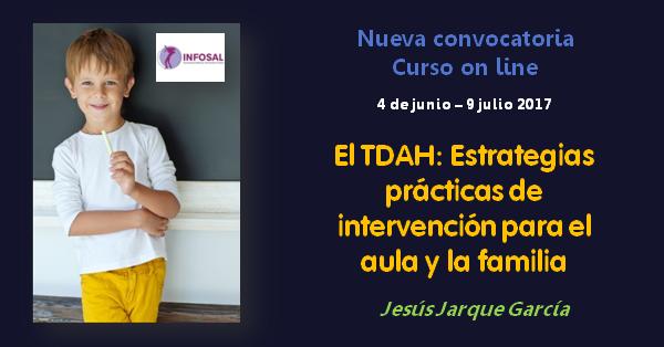 Curso TDAH on line de Jesús Jarque