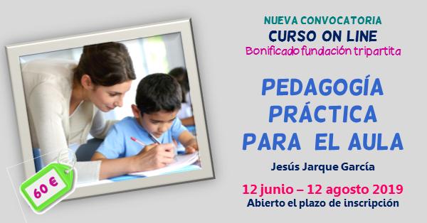 Pedagogía práctica, curso on line