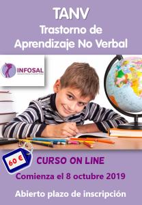 Curso on line sobre el Trastorno de Aprendizaje No Verbal