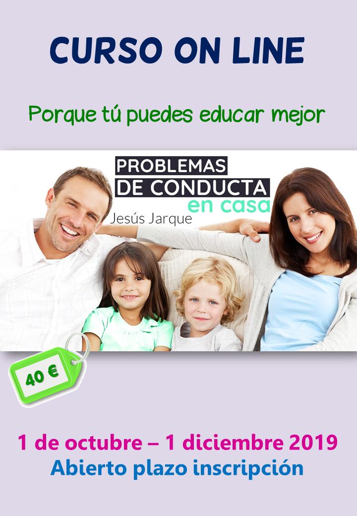 Curso on line sobre problemas de conducta