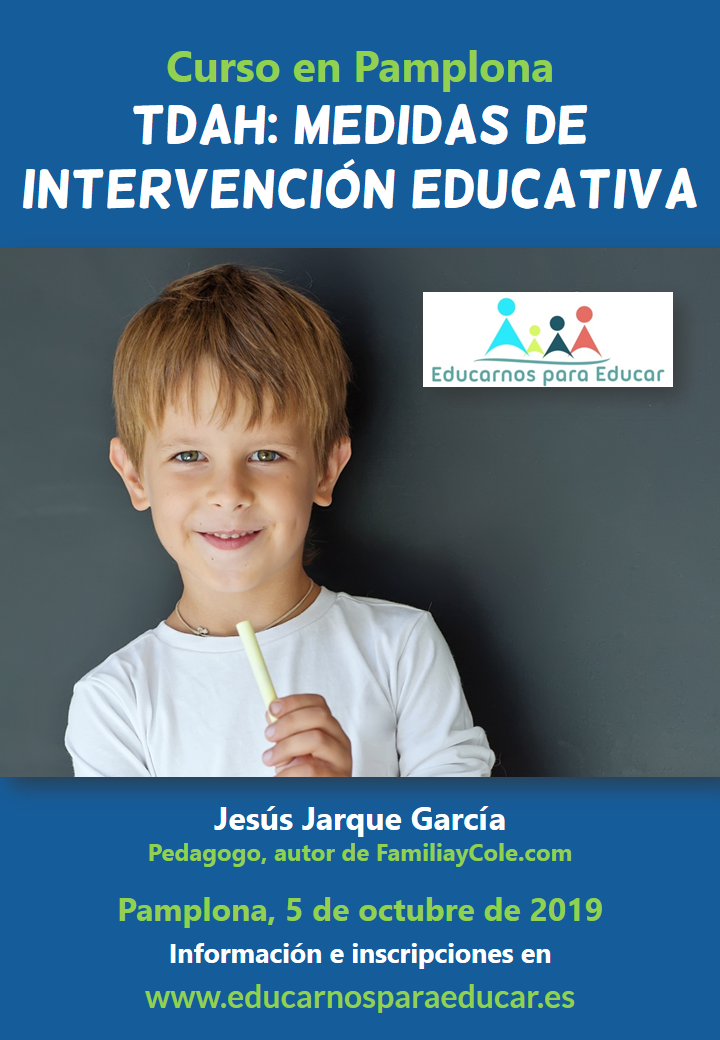 Curso en Pamplona sobre intervención educativa en TDAH