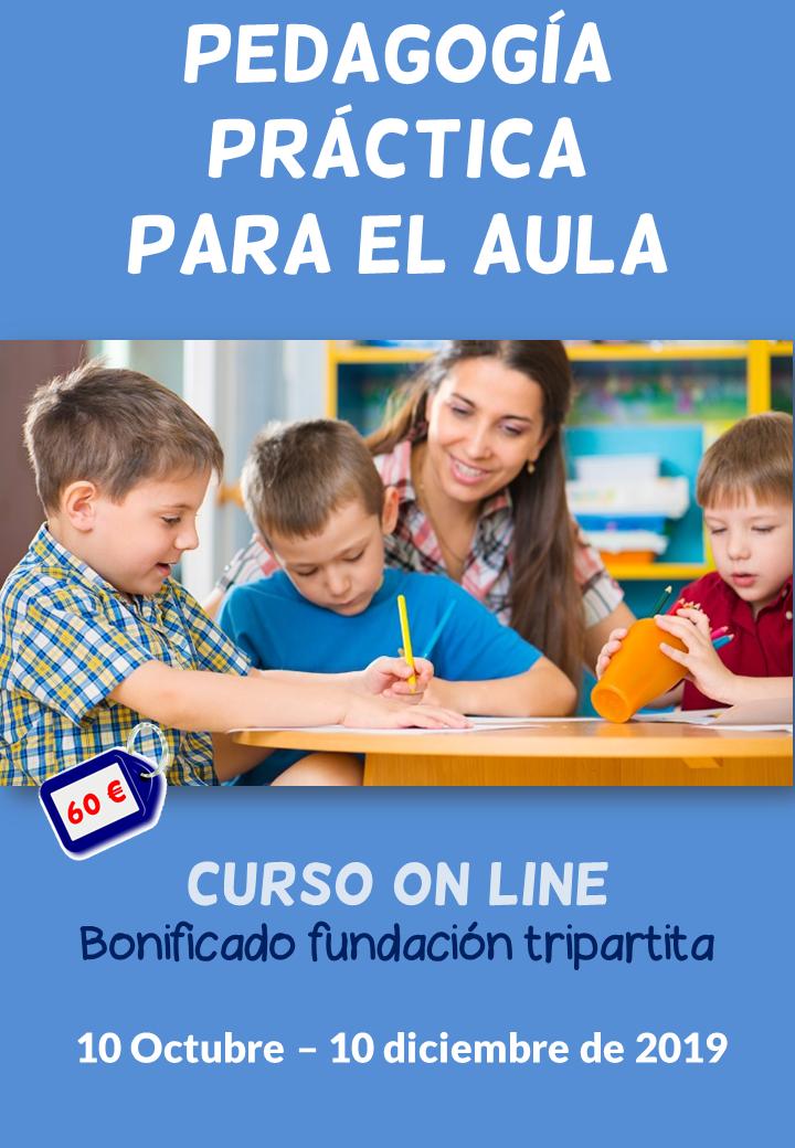 Curso on line sobre pedagogía práctica para el aula