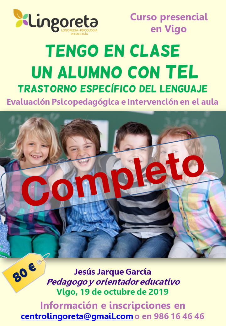 Curso en Vigo sobre el Trastorno Específico del Lneguaje, TEL