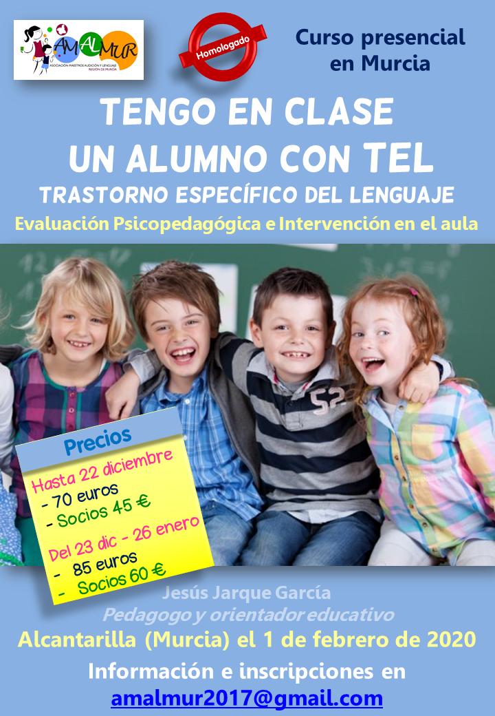 Curso en Murcia tengo un alumno con TEL