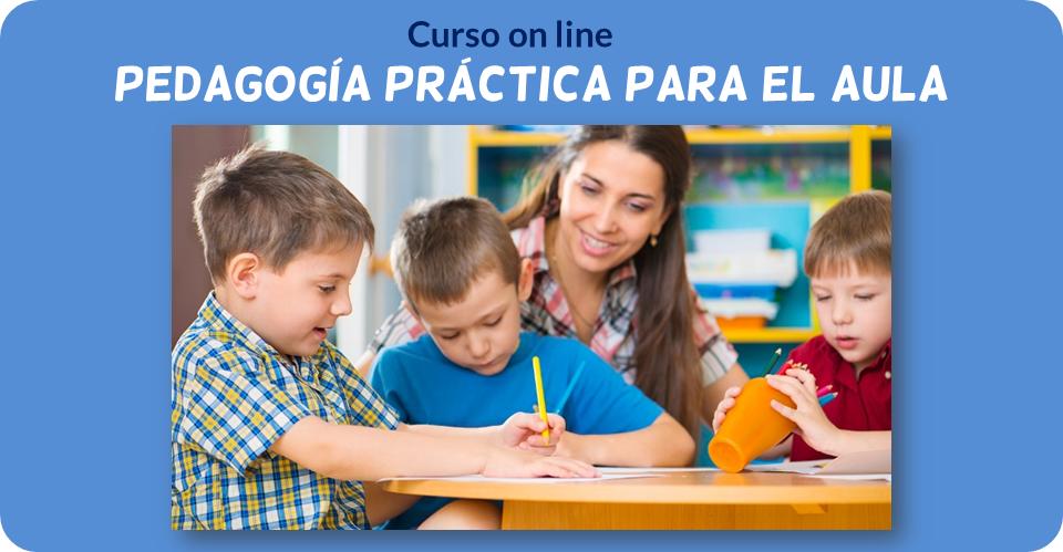 Curso on line: pedagogía práctica para el aula, de Jesús Jarque