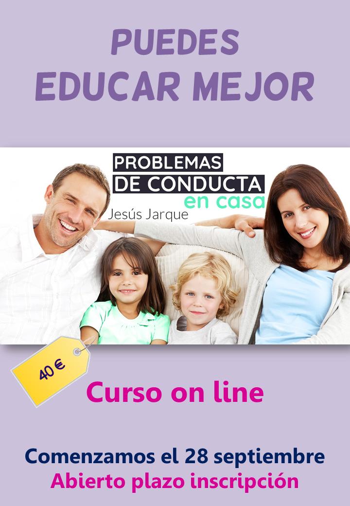 Curso on line sobre problemas de conducta en casa