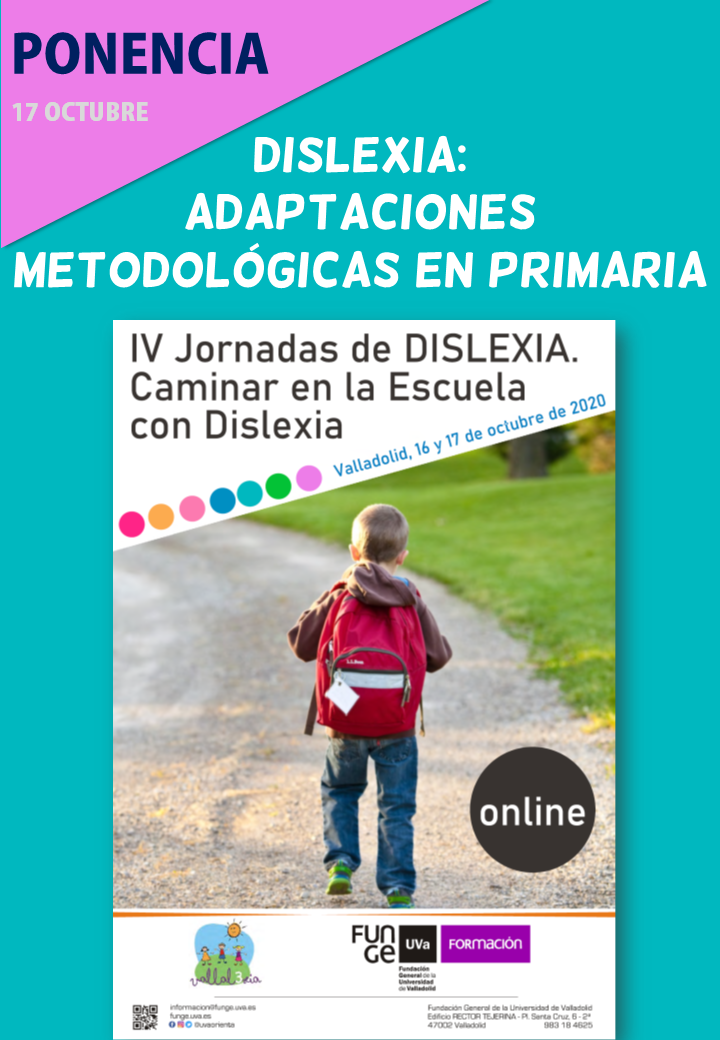 Ponencia en las IV Jornadas de dislexia en Valladolid