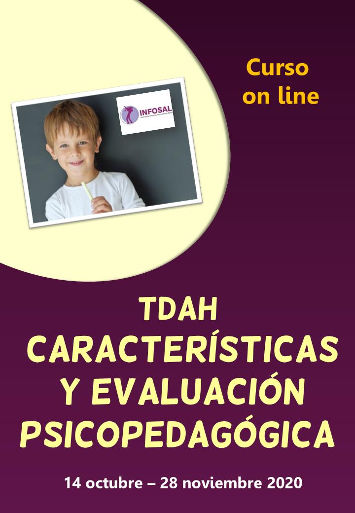 Curso on line sobre evaluación psicopedagógica del TDAH
