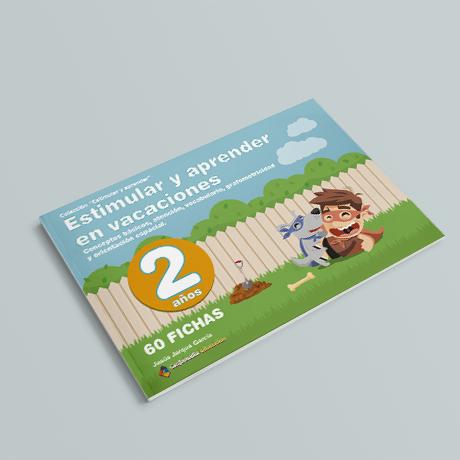 Cuaderno de Estimular y Aprender en Vacaciones, 2 años, de Jesús Jarque y Editorial Gesfomedia Educación.